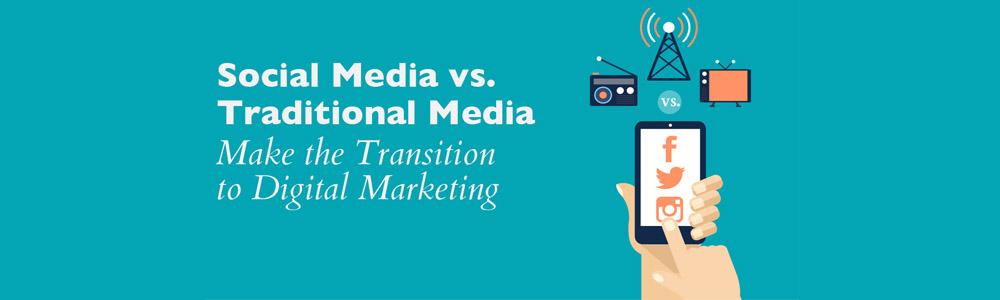 Social media vs. Traditional media